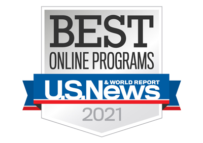 Ranked Best Online Programs 2021 by U.S. News & World Report